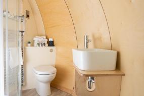 Family Room with Bathroom, Thornfield Glamping Pods, The Dark Hedges, Ballycastle