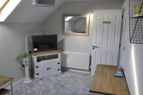 Deluxe Double Room with Shower Room and Sitting Room, Longview House