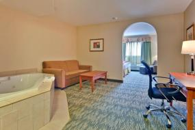 King Suite with Spa Bath, Holiday Inn Express Hotel & Suites-Edmonton South, an IHG Hotel