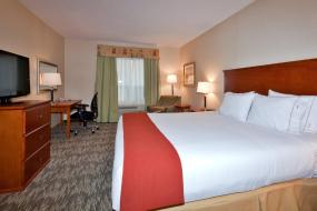 King Room, Holiday Inn Express Hotel & Suites-Edmonton South, an IHG Hotel