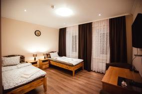 Двухместный номер с 1 кроватью или 2 отдельными кроватями и хорошим видом, Отель Чайка