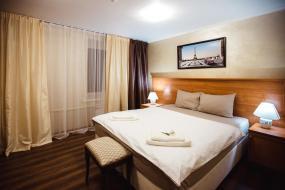 Двухместный номер с 2 отдельными кроватями и окном, Отель Чайка