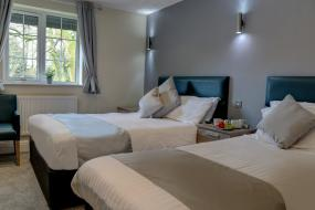 Standard Family Room with 1 Double and 1 Twin Bed and Sofa Bed - Non-Smoking, Best Western Bolholt Country Park Hotel