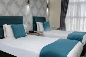 Standard Double Room with Two Single Beds - Non-Smoking, Best Western Bolholt Country Park Hotel