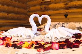 Стандартный двухместный номер с 1 кроватью - Романтическое предложение, Гостиничный комплекс Коровницкая Слобода