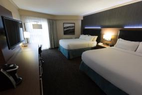 Queen Room with Two Queen Beds, Holiday Inn Express Edmonton Downtown, an IHG Hotel
