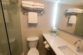 King Suite with Spa Bath, Holiday Inn Express Edmonton Downtown, an IHG Hotel