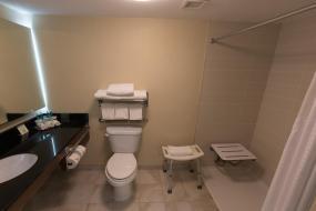 King Room with Bath Tub - Disability Access, Holiday Inn Express Edmonton Downtown, an IHG Hotel