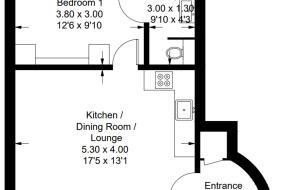 Apartment - Ground Floor, City Apartments - Monkbar Mews