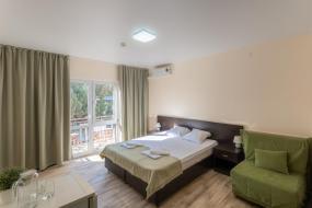 Двухместный номер с 1 кроватью или 2 отдельными кроватями, Оздоровительный комплекс «Лазурный»