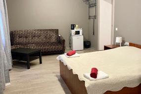 Большой двухместный номер с 1 кроватью, Гостиница
