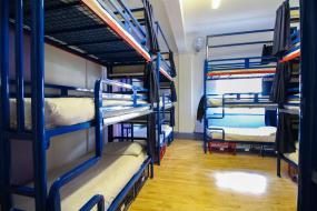 Bunk Bed in 15-Bed Female Dormitory, London Backpackers Youth Hostel