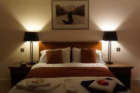 Deluxe King Room, The Lyn Valley Guest House