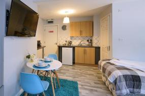 Studio Apartment, Grey Stone Studio Apartments