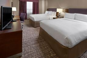 Queen Room with Two Queen Beds, DoubleTree by Hilton West Edmonton