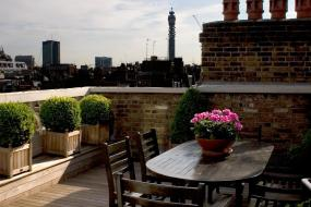 Suite with Terrace, The Mandeville Hotel