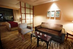 Business Suite with complimentary airport transfers, The Grand New Delhi
