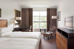 Twin Room with Garden View and Lounge Access, Hyatt Regency London - The Churchill