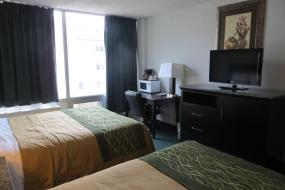 Double Room with Two Double Beds - Non-Smoking, Comfort Inn & Suites Downtown Edmonton