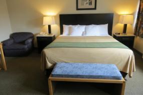 King Room - Non-Smoking, Comfort Inn & Suites Downtown Edmonton