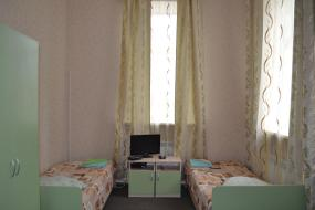 Двухместный номер с 2 отдельными кроватями, Гостиница Каменка
