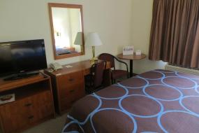 King Room - Disability Access - Non-Smoking, Super 8 by Wyndham Edmonton/West
