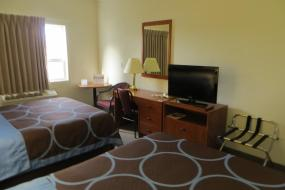 Queen Room with Two Queen Beds - Non-Smoking, Super 8 by Wyndham Edmonton/West