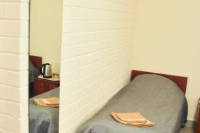 Бюджетный двухместный номер с 2 отдельными кроватями, 4 Комнаты