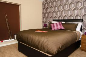 Double Room, Trivelles Hotel - Manchester - Eccles New Road