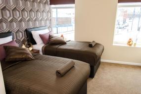 Twin Room, Trivelles Hotel - Manchester - Eccles New Road