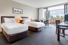 Twin Room, Hilton Lake Taupo