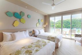 Deluxe Double or Twin Room with Ocean View, Palau Royal Resort