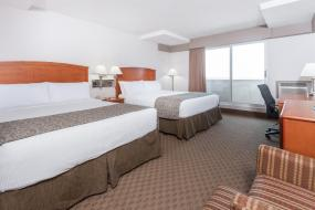 Deluxe Queen Room with Two Queen Beds - Non-Smoking, Ramada by Wyndham Edmonton South