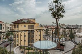 Стандартный двухместный номер с 1 кроватью и балконом, Margosa Hotel Tel Aviv Jaffa