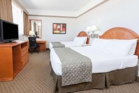 Queen Room with Two Queen Beds - Pet Friendly, Ramada by Wyndham Edmonton South