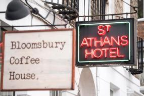 Single Room with Private External Bathroom, St Athans Hotel