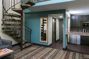 Upgraded Loft King Suite - Non-Smoking, Ramada by Wyndham Edmonton Yellowhead NW