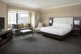 Полулюкс с 1 кроватью размера «king-size» , Hilton San Francisco Union Square