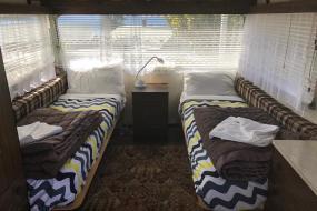 Caravan, Lake Hawea Hostel