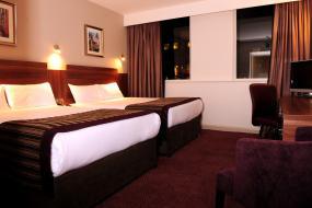 Twin Room with 2 Double Beds, Jurys Inn Birmingham