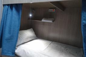Односпальная кровать в общем мужском номере, Hostel Eleon