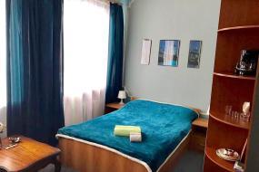 Двухместный номер с 1 кроватью и общей ванной комнатой , Гостиница