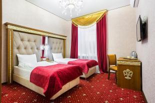 Отель Империя Двухместный номер с 2 отдельными кроватями