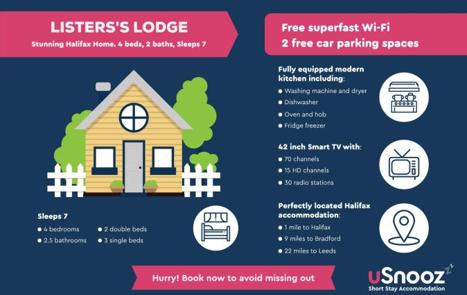 Listers Lodge, Halifax