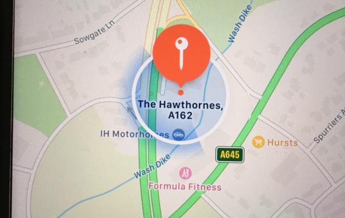 THE HAWTHORNES, Knottingley